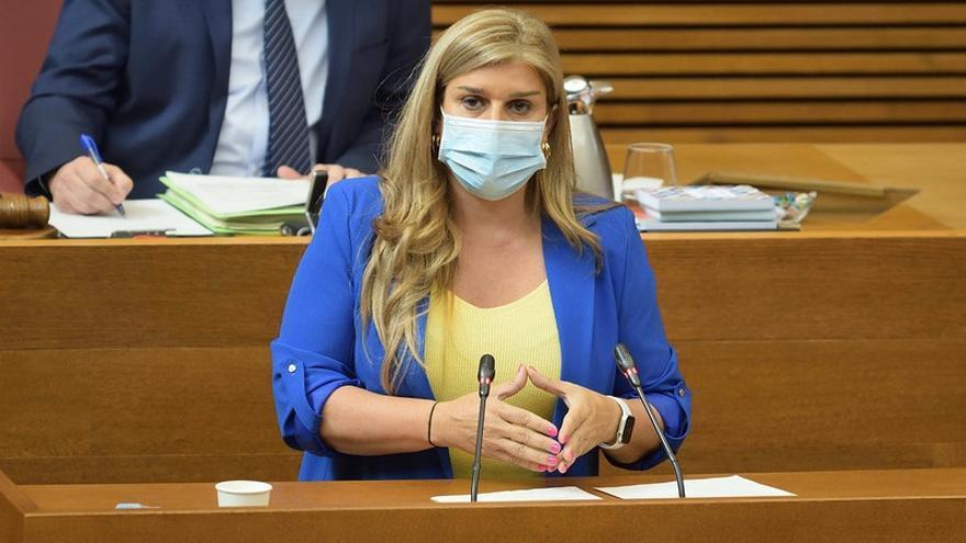 La Portavoz del GPP, Eva Ortiz,