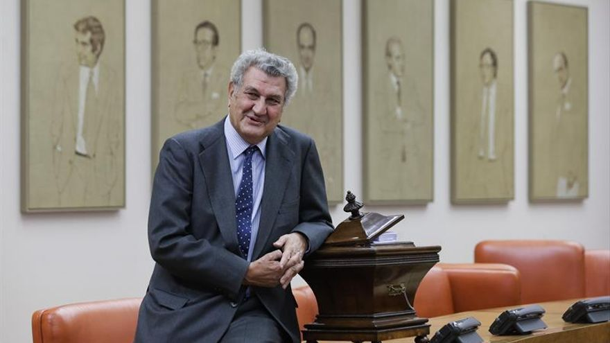 El Congreso cuelga el lunes en su galería de presidentes el retrato de Posada