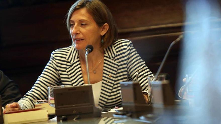 Forcadell cambia por segunda vez hora del pleno, que coincidirá con el Senado