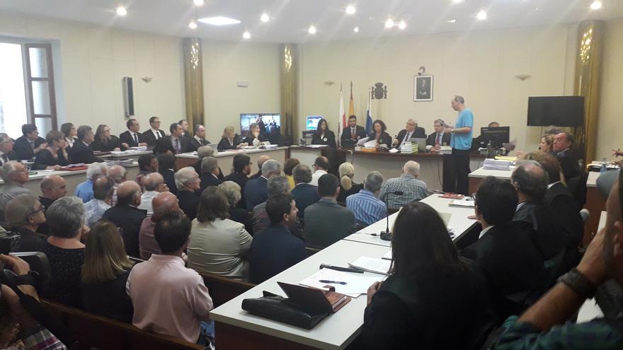 El juicio de 'La Loma' se retoma el día 12 con 13 acusados, 32 menos que hace un mes