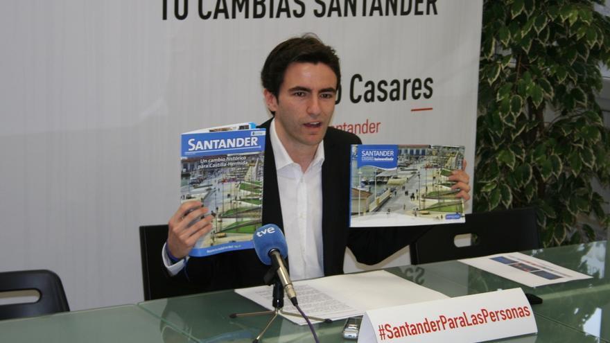 """Casares denuncia """"la propaganda institucional con dinero público"""" realizada por De la Serna"""
