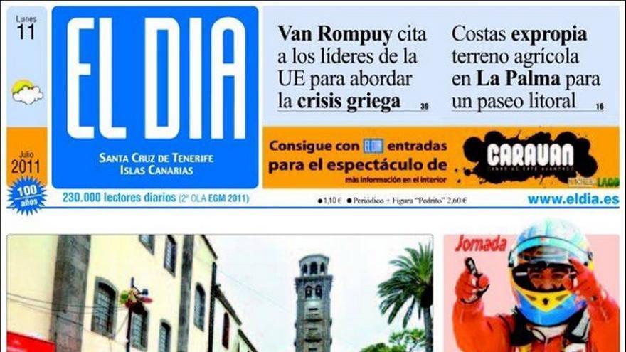 De las portadas del día (11/07/2011) #3