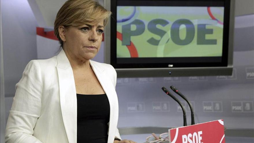 Valenciano acusa a Díez de irresponsable por romper con el PSOE en Asturias