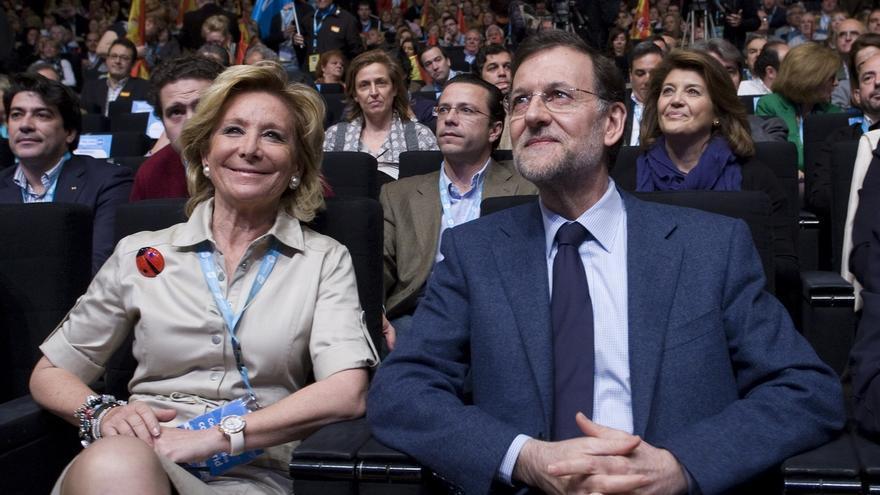 Esperanza Aguirre está segura de que Rajoy cree en su presunción de inocencia