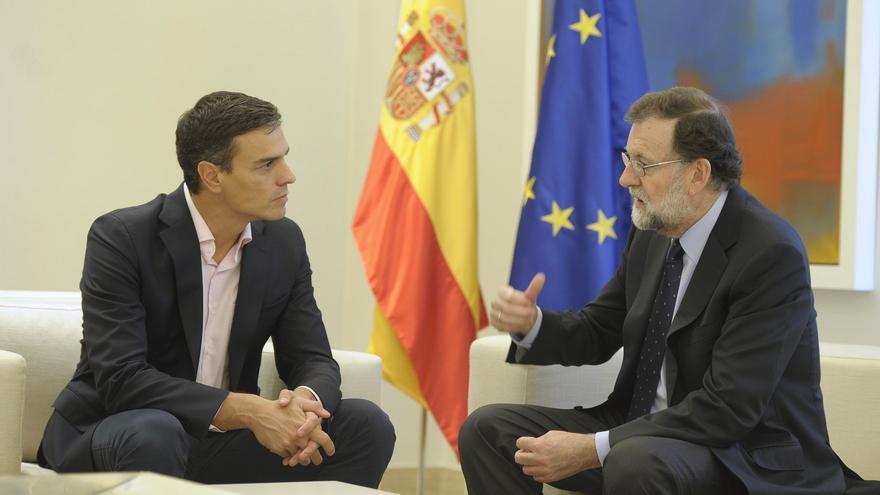 Reunión Sánchez y Rajoy
