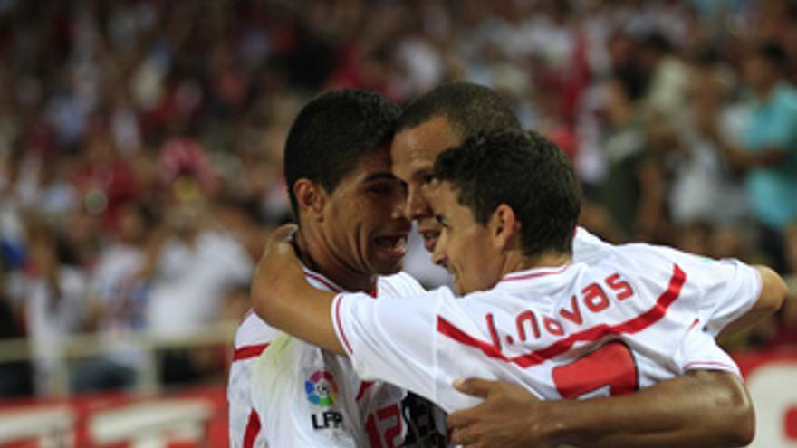 El Sevilla venció 3-1