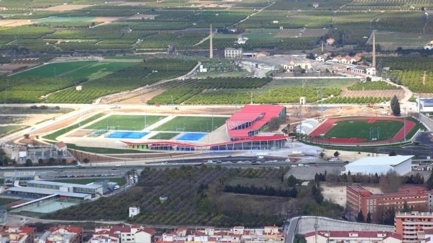 El complejo de la Ciutat de l'Esport ha costado 11,1 millones