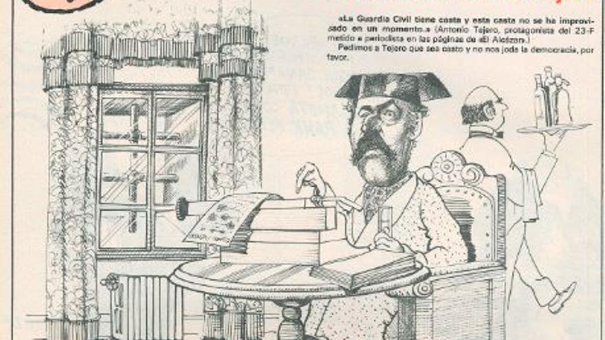 El jueves : la revista que sale los mièrcoles [any V, núm. 236] 1981