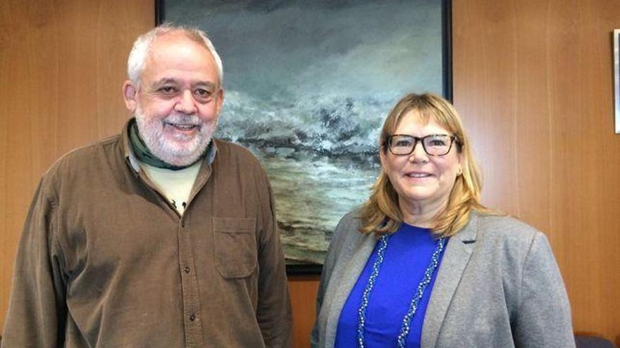 Juan Capote y María del Rosario Fresno, ambos científicos del ICIA canario