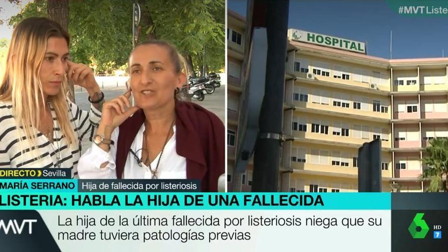 """La hijas de una fallecida por listeria responden a Juanma Moreno: """"Si hubiera perdido a su madre no estaría tan orgulloso"""""""