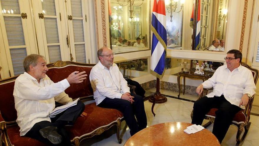 El Rey y Rajoy reciben hoy en Madrid al ministro de Exteriores cubano