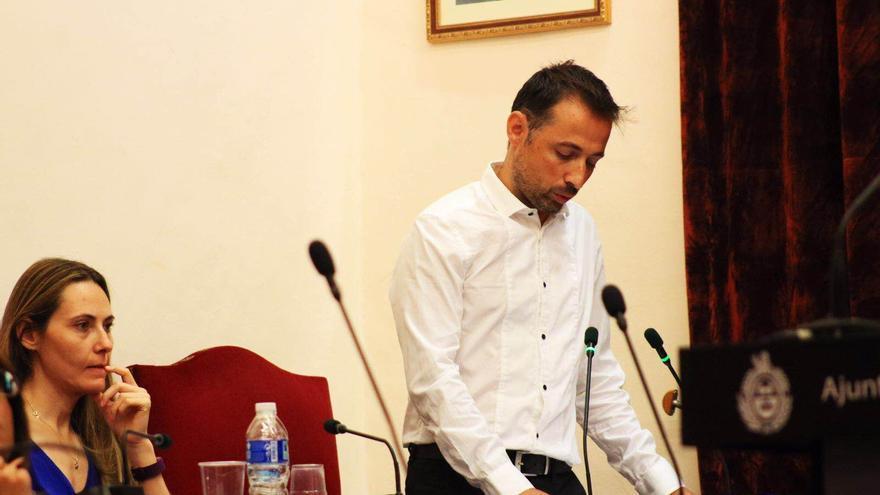 Fernando Durà, concejal de Ilicitanos por Elche.