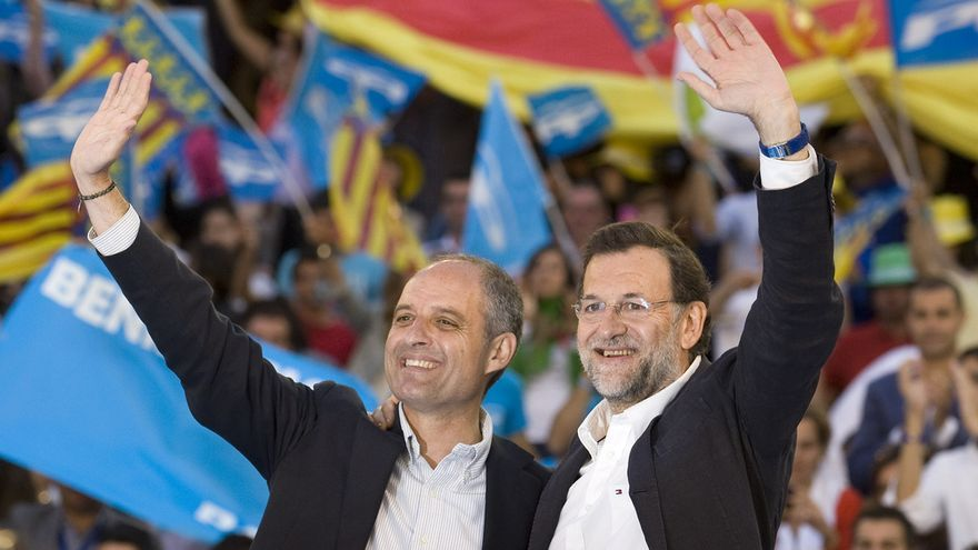 Francisco Camps Mariano Rajoy