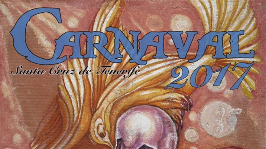 Cartel del Carnaval de Santa Cruz de Tenerife de 2017 elaborado por Pepe Dámaso