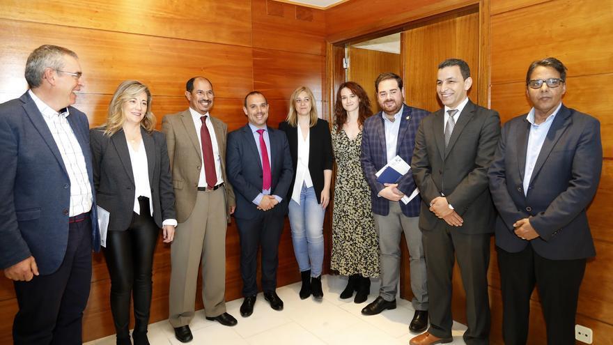 Diputados del Intergrupo Parlamentario para el Sáhara