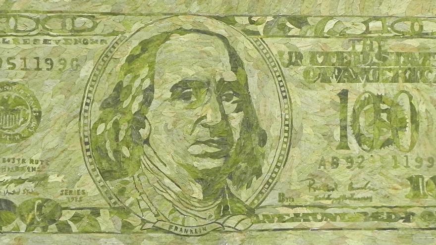 Gastón Ugalde (La Paz-Bolívia, 1944) New $100 Bill (2015)  Divulgação