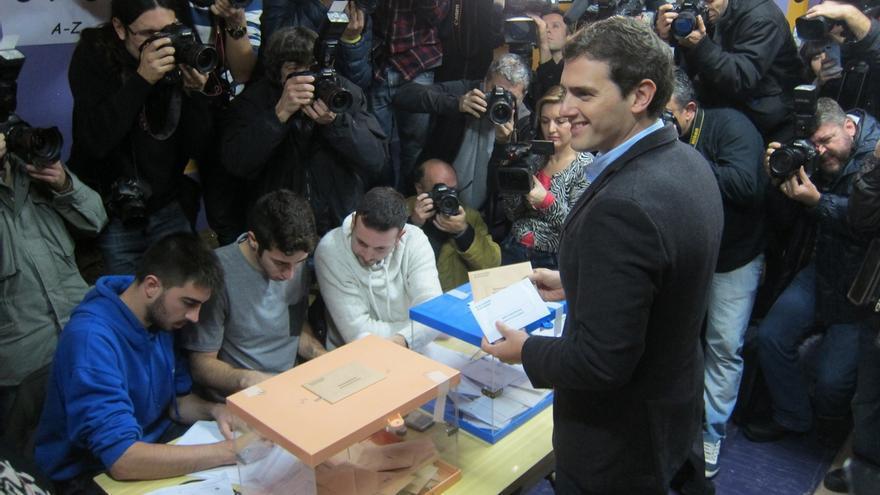 """Albert Rivera pide una participación récord: """"Si queremos cambiar España hay que mojarse"""""""
