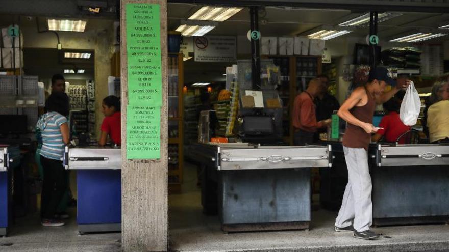 La inflación acumulada en Venezuela en 2019 supera el 3.000 %
