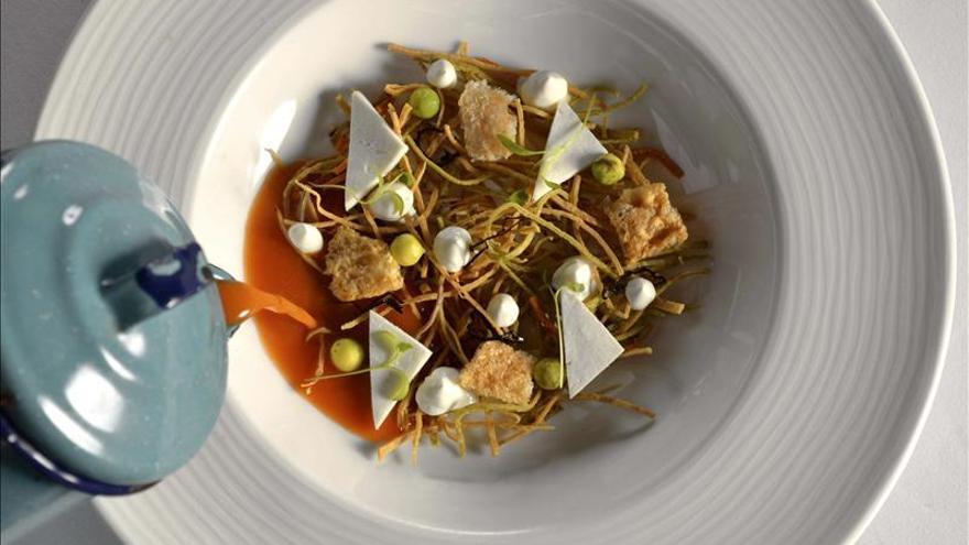 El chef mexicano Daniel Ovadía despliega su aclamada cocina en Madrid