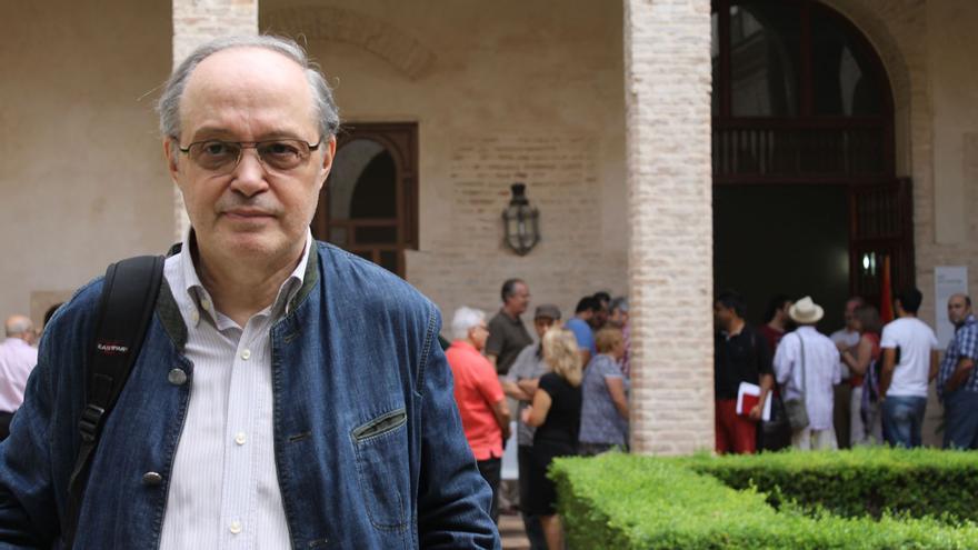 El presidente del Equipo Nizkor, Gregorio Díaz Dionis.