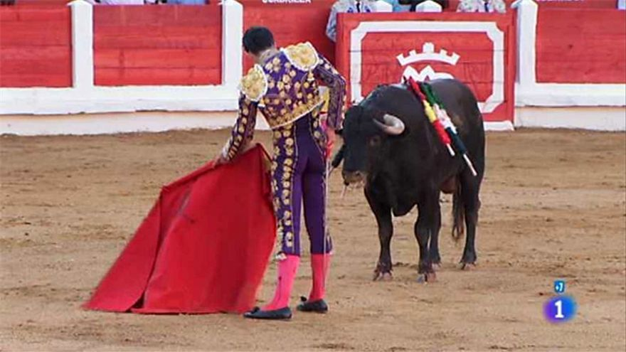Una corrida de toros retransmitida en La 1 de TVE