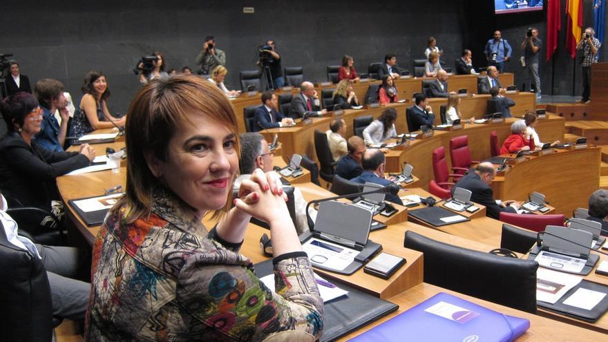 """Ainhoa Aznárez (Podemos), nueva presidenta del Parlamento foral: """"La nueva Navarra comienza hoy y ahora"""""""