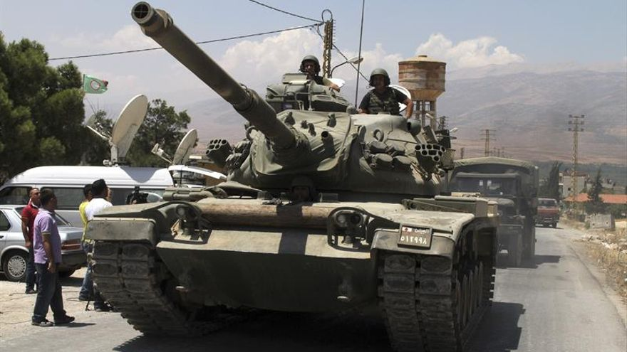 """El EI mantiene en el Líbano """"lobos solitarios"""", según el jefe del Ejército"""