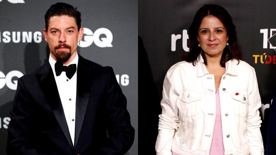 Adrián Lastra y Adriana Lastra, en sendas fotos de archivo