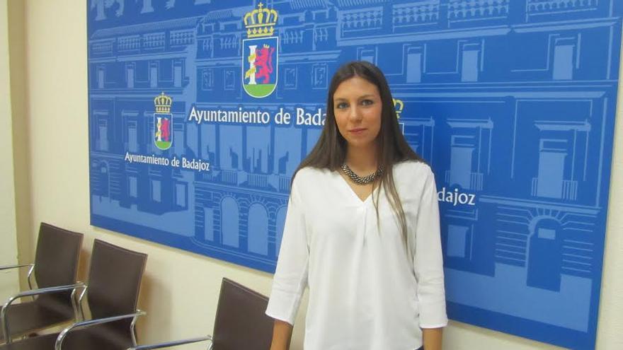 Sara Durán, concejal del PSOE en Badajoz