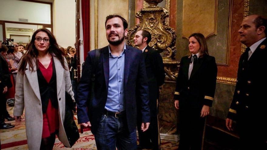 IU estudia formar grupo en el Congreso con Compromís si la Mesa bloquea los cuatro de Podemos