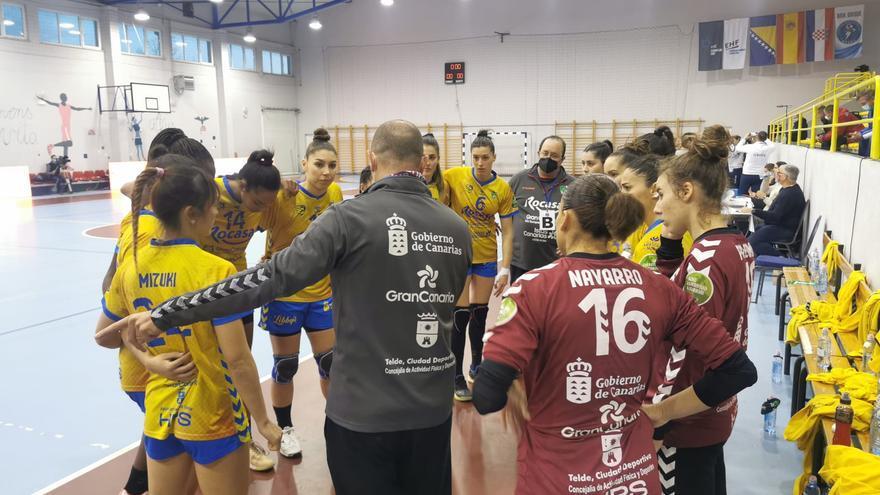 El Rocasa Gran Canaria vuelve a ganar al HZRK Grude y se cuela en cuartos de final de la EHF European Cup