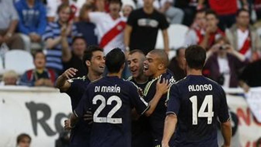 Al final el partido acabó bien para los madridistas. (EUROPA PRESS)
