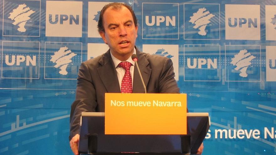 """Adanero (UPN) respeta que Barcina no repita como candidata y asegura que el partido """"va a seguir liderando Navarra"""""""