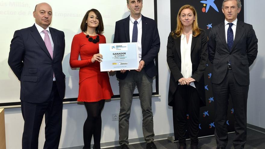 La empresa Berten gana la edición 2015 de los Premios EmprendedorXXI en Cantabria