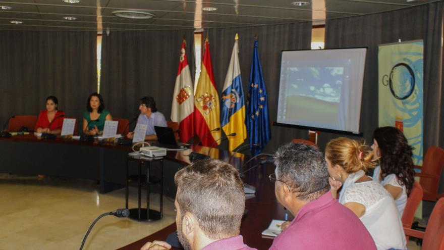 Formación de trabajadores públicos de La Gomera sobre la Reserva de la Biosfera