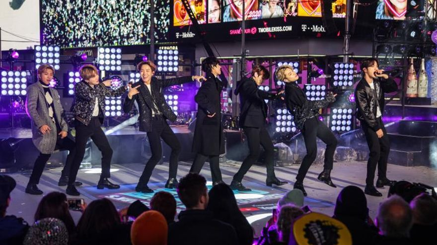 "BTS presenta su nueva gira mundial ""Map of the Soul"""