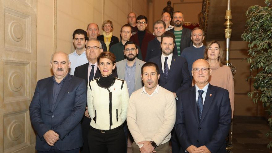 Gobierno foral y ayuntamientos celebran la primera conferencia institucional para trabajar por la cohesión territorial
