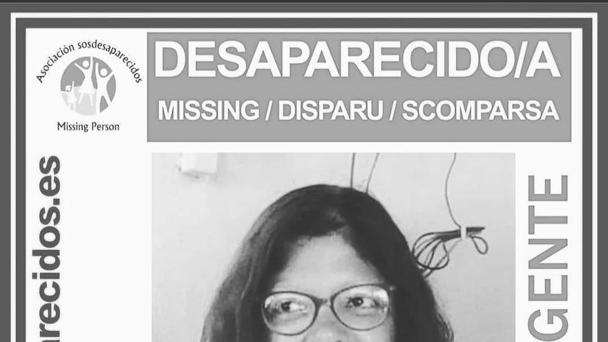 Cartel de la desaparición de Rosa Nieves Arbelo