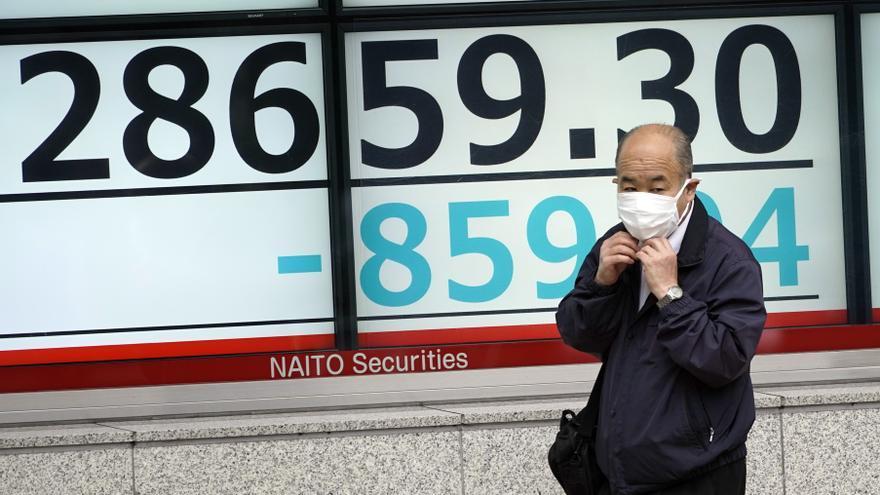 El Nikkei cierra en su nivel más bajo de todo 2021