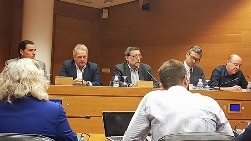 Alfonso Rus interviene en comisión parlamentaria sobre las irregularidades en Ciegsa en las Corts