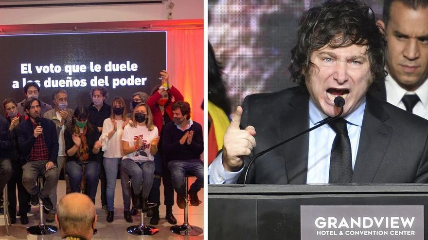 Frente de Izquierda/Javier Milei