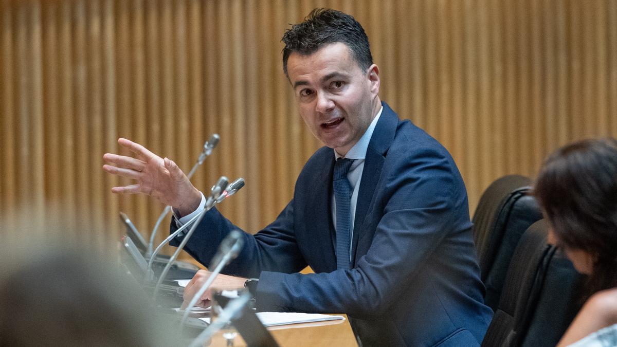 El secretario de Relaciones Internacionales del PSOE, Héctor Gómez. EFE/Rodrigo Jiménez/Archivo