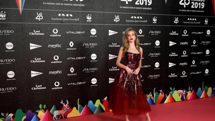 Los grandes músicos de Los Premios 40 ausentes en la alfombra roja