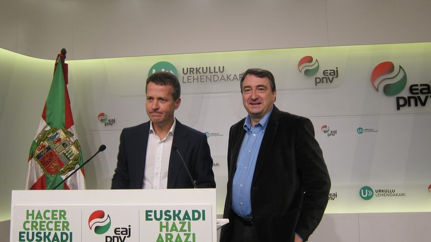 PNV aconseja a Podemos que incluya en su autubús a la senadora desahauciada y a Espinar por el piso de protección