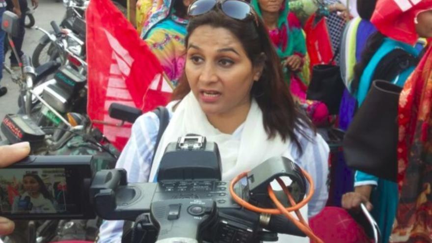 Naghma Iqtidar, activista pakistaní.