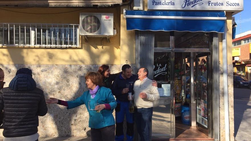 Pastelería de Talavera de la Reina agraciada con el Gordo