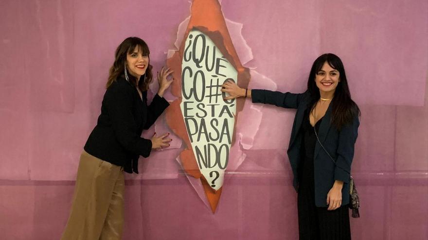 Rosa Márquez y Marta Jaenes. Imágenes del estreno.