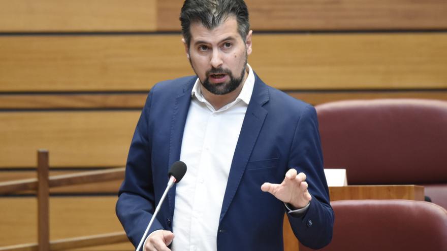 El líder del PSOE en Castilla y León, Luis Tudanca.