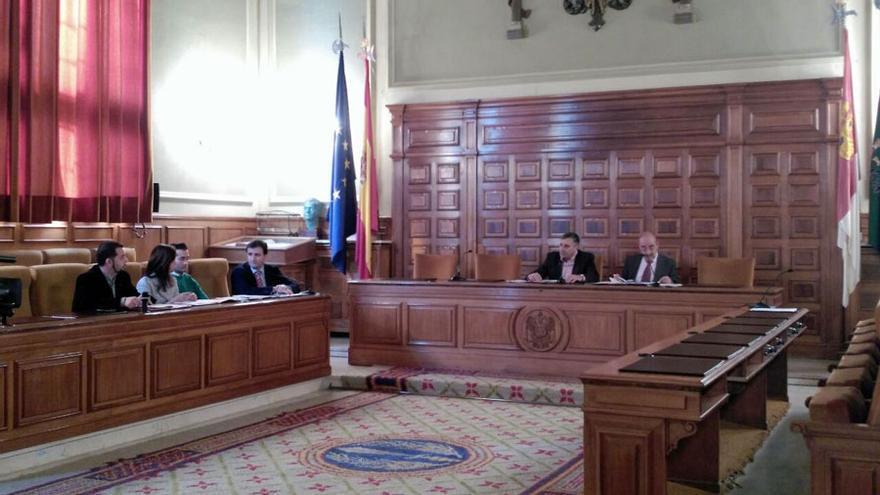 Imagen de la sesión de la Comisión de Investigación