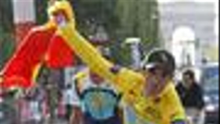 Alberto Contador gana el Tour de Francia